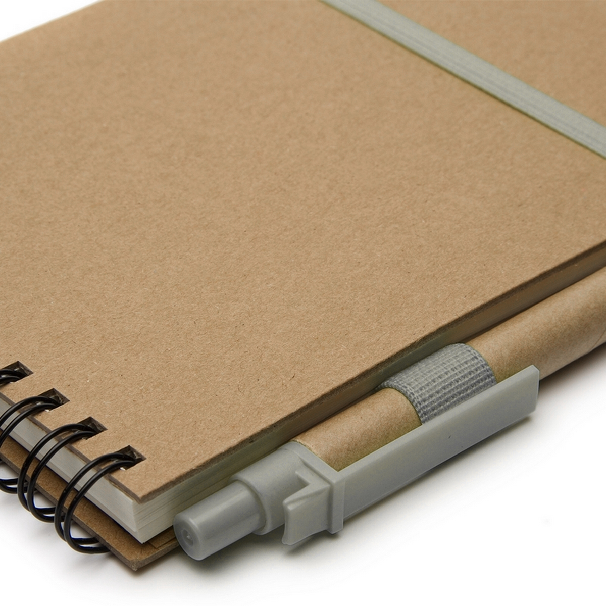 Cuaderno ECO1 Espiralado A6 C/boligrafo