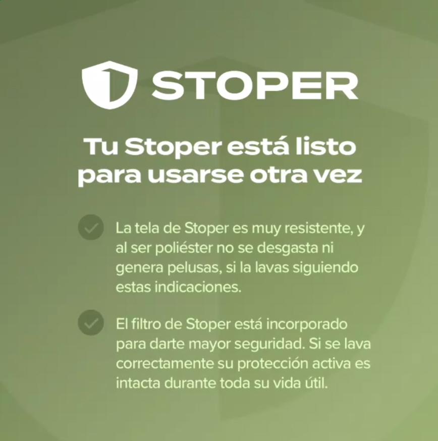 Tapaboca Reutilizable STOPER