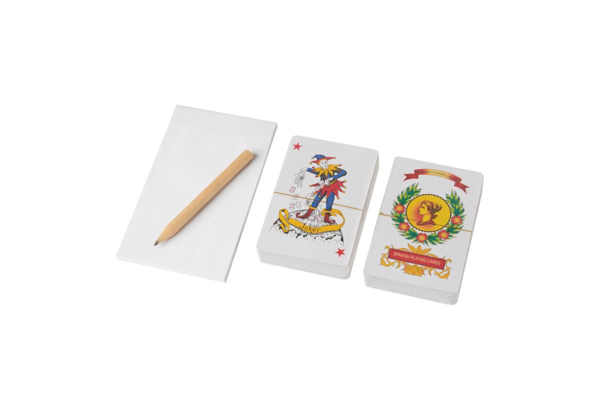 Set de Naipes Poker y Españolas c/anotador