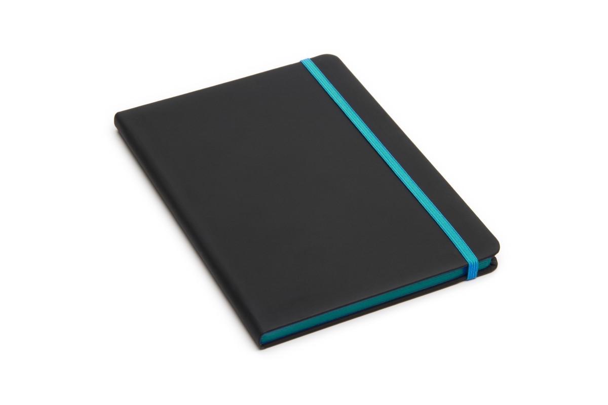 Cuaderno France A5 80 hojas Cinta y Elastico Color
