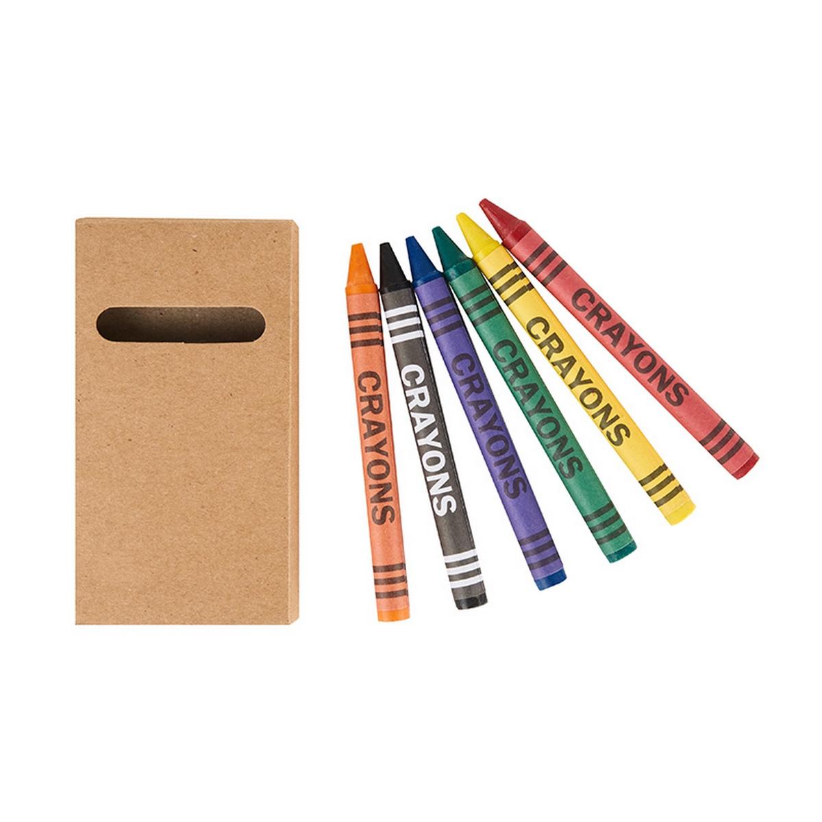 Set de Crayones x 6 unidades